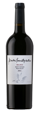 2011 Krutz Malbec 'Krupp Vineyard', Napa Valley