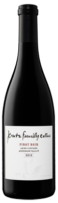 2015 Krutz Pinot Noir 'Akins Vineyard', Anderson Valley